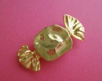 Hard Candy Pin - Gold Tone