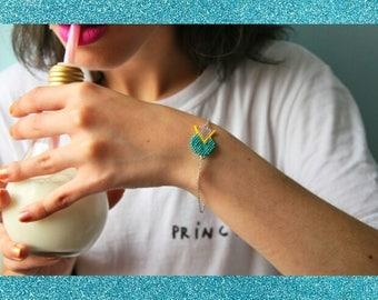 Bracelet Miyuki géométrique
