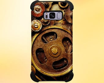 Steampunk Gears Phone Case for iPhone, Galaxy, Note & Pixel