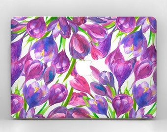 Tulips MacBook Pro Laptop Skin MacBook Air  Laptop Skin Flowers MacBook Air Floral Flower Decal MacBook Laptop Floral Sticker Skin MacBook