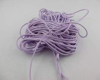 Shamballa woven purple nylon cord