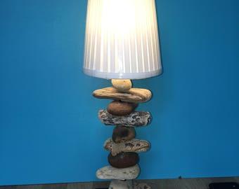 Driftwood lamp - onze Tresors--