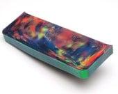 Aurora Opal - New Opal (61.18 g), Rough Opal, Multicolored Opal for Opal Jewellery or Opal Inlays (Lab Created Opal, Orange Opal)