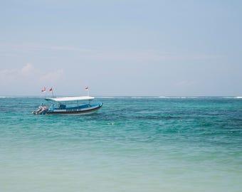 Travel Photography Bali, Ocean Art, Large Wall Decor, Travel Photography, Contemporary Art, Photos on Wood, Modern Art