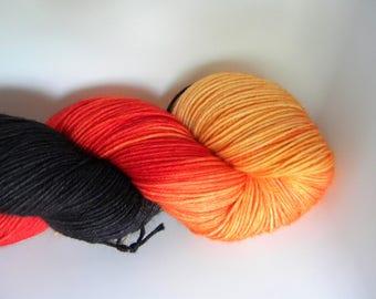 King of the Pumpkin Patch 4 ply Sock Yarn