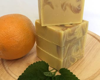 Citrus & Peppermint Soap