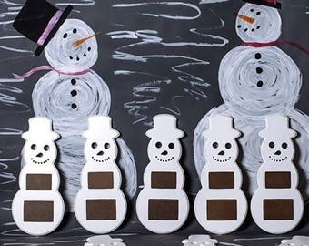 Snowman Picture Frame