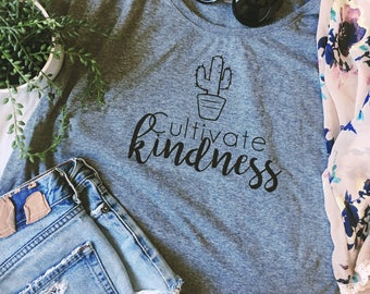 Cultivate Kindess Cactus Tee