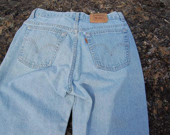 Vintage Levi's // orange tab Levi's // Levi's // high waisted jeans //