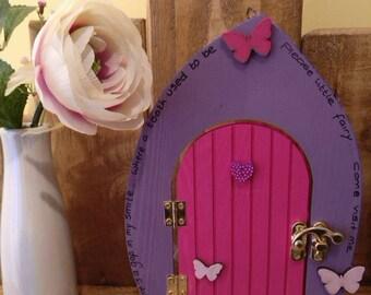 Wooden Tooth Fairy Door