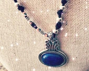 Lapis necklace