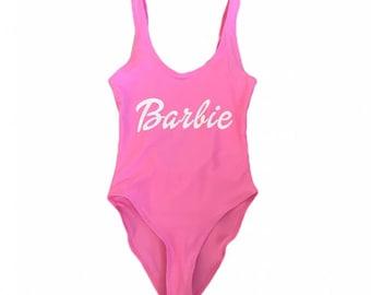 Barbie- one piece swim suit/ bathing suit / swimwear/