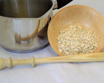 spurtles, wooden,  for making the best porridge