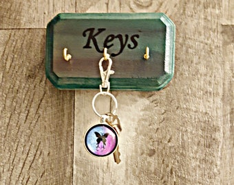 Hand Painted Key Hanger