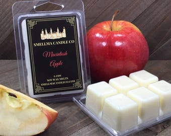 Macintosh Apple Soy Wax Melts, Wax Melts, Soy Wax Melts, Soy Wax Tart, Soy Candle Melts, Wax Warmer, Wax Cubes, Scented Soy Tart