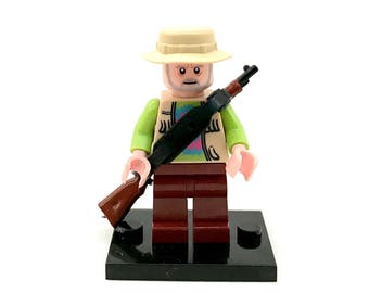 Dale The Walking Dead Custom Lego and Compatible Minifigure FREE SHIPPING!!!