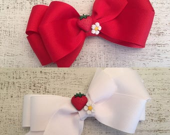 Strawberry Hairbow