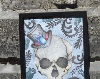 vintage skull