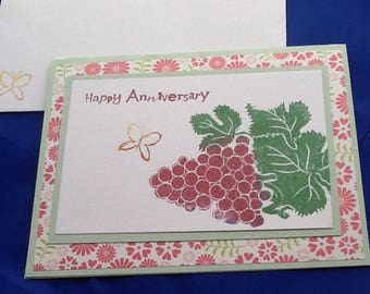 5 Anniversary cards, variety of styles