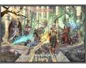 Affiche Legacy of Kain [ Illustration | Video Games | Fan-Art ]