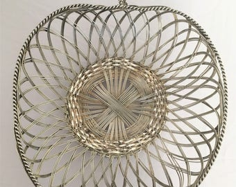basket for bread or fruit wire
