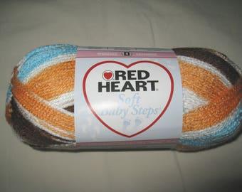Red Heart Soft Baby Steps Yarn Mud Pie