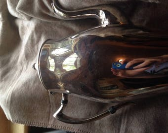 Vintage Silverplated Guildcraft Tea Pot