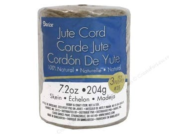 Jute Cord 3 Ply 98 Yards Darice