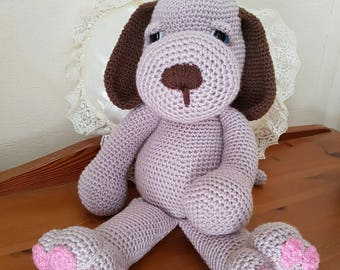 Hand Crocheted Soft Toy Puppy