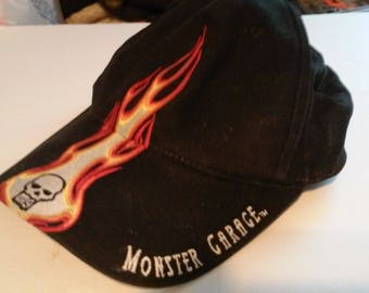 Monster Garage Ball Cap - Strap Back Style