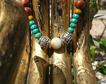 Bracelet Tibetan man and mixed