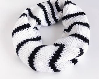 Luxe Striped Cowl