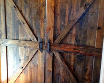 Farmhouse / Industrial Sliding Barn Doors