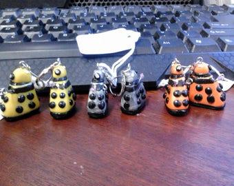 Enemy Alien Earrings - Pick a colour!