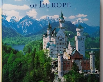 Coffee Table Book Titled Castles and Palaces Of Europe