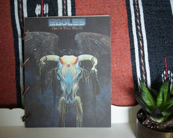 Recycled Vinyl Cover Guitarist's Tab Notebook (Eagles)