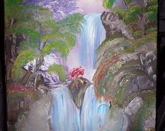 Survivor in the Falls