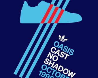 Oasis concert poster