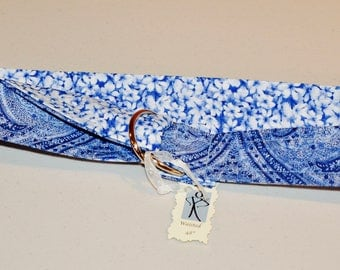 You Like Blue Fabric Belt