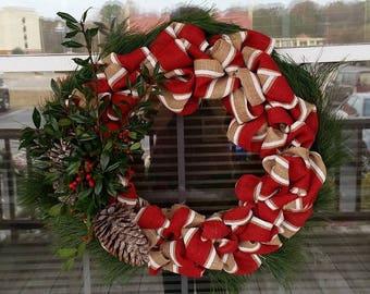 Christmas Decor Wreath/Door Hanger