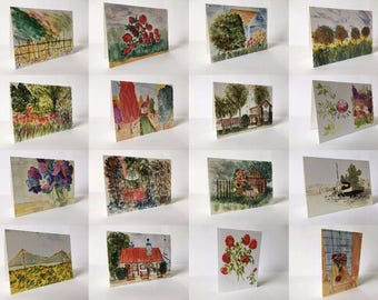 Greetings Cards: The Complete Collection of 16 [small]
