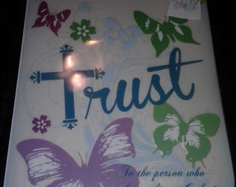 TRUST Inspire Me Iron On Transfer Thermocollant