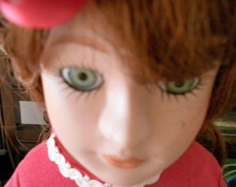 Collectible doll Porcelain