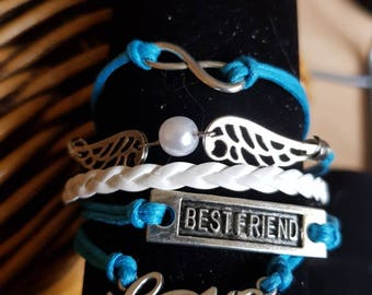 Best Friend Multistrand Bracelet