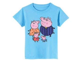Peppa Pig T-Shirt for children - available in many sizes and colors