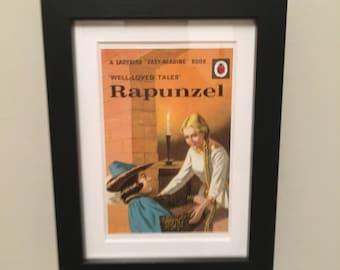Retro Ladybird Book cover. Rapunzel