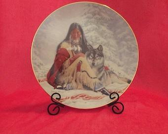 Vintage Hamilton Collection collectible plate