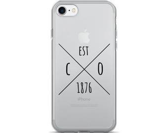 Colorado Statehood - iPhone Case (iPhone 7/7 Plus, iPhone 8/8 Plus, iPhone X)