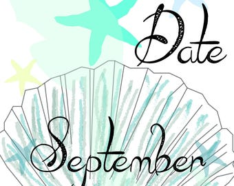September 2018 Save the Date Postcard