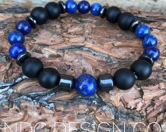 Triple Lapis bracelet